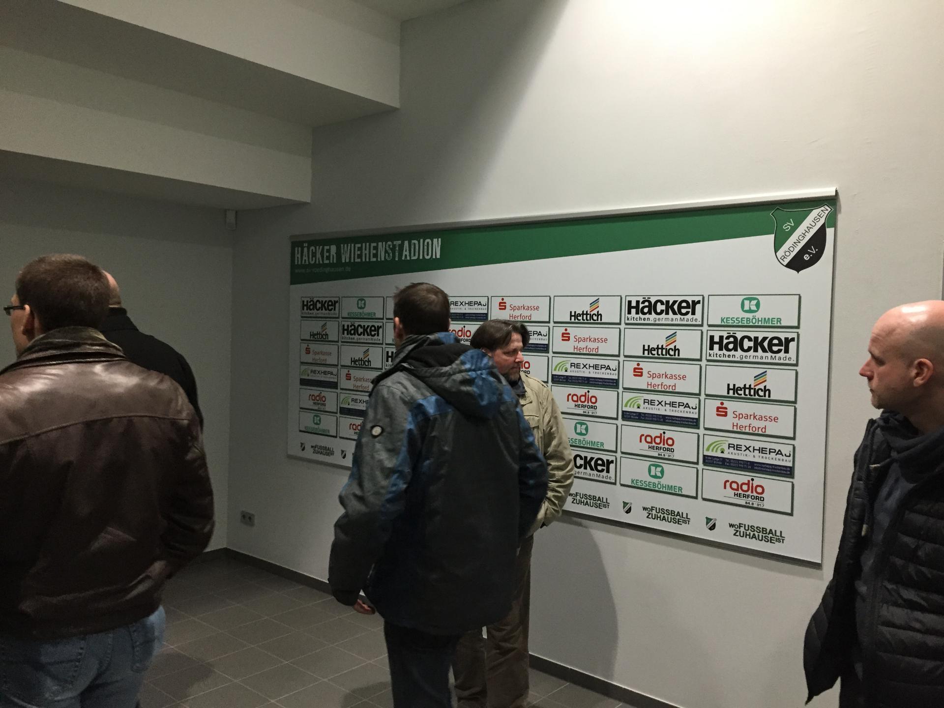 Cvjm Rodinghausen E V Mannerkreis Besichtigt Hacker Wiehenstadion
